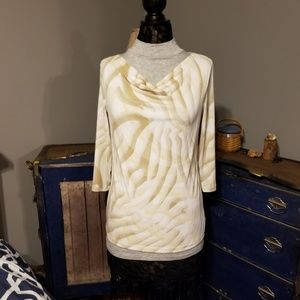 Chico's easy wear blouse